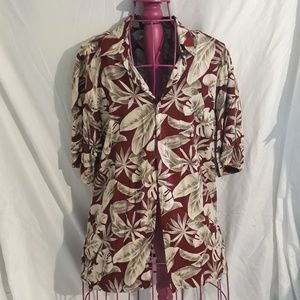 Pierre Cardin Mens Large Button Up Dress Shirt